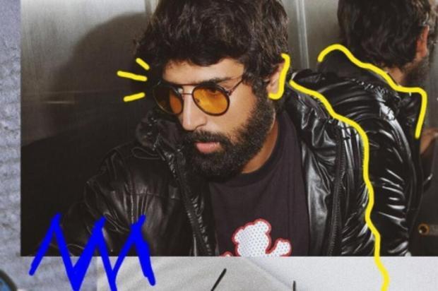 3por4: Artista visual Guilherme Nerd assina intervenção nas fotos de divulgação da nova coleção da Spektre Arte em fotos de Thiago Bruno/Divulgação