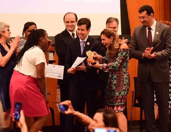 Merendeira de Bento Gonçalves é uma das campeãs de concurso nacional de alimentação escolar Fundo Nacional de Desenvolvimento da Educação (FNDE)  / divulgação/divulgação