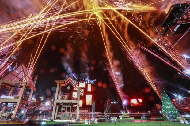 Mais de quatro mil pessoas assistem à estreia do Reencontros de Natal, em Gramado Cleiton Thiele/Divulgação