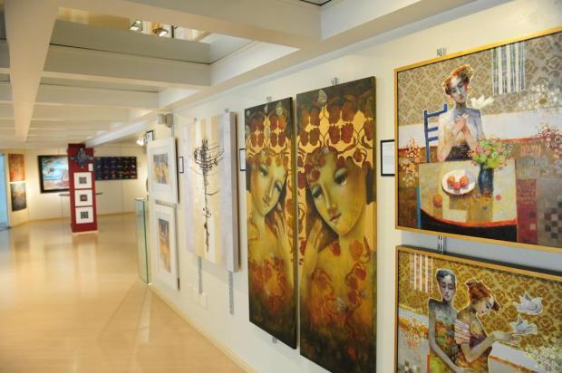 """Agenda: Exposição """"Expressão Global 44"""" pode ser visitada até 30 de novembro Roni Rigon/Agencia RBS"""