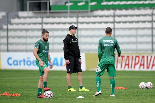 Jogadores elogiam método de trabalho de Antônio Carlos Zago no Ju Marcelo Casagrande/Agencia RBS