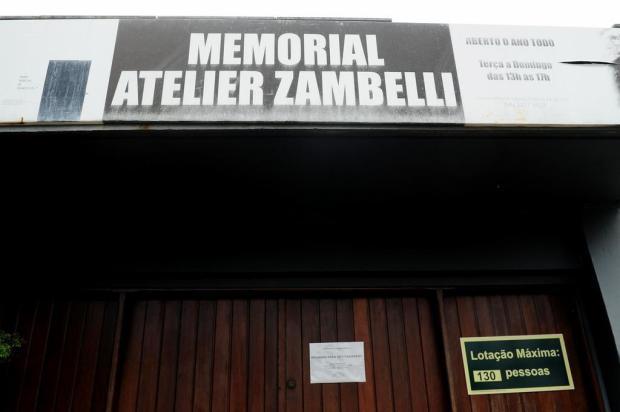 3por4: Memorial Atelier Zambelli deve permanecer no espaço localizado embaixo do Monumento Jesus Terceiro Milênio Diogo Sallaberry/Agencia RBS