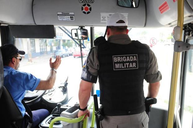 Contraofensiva da BM de Caxias do Sul reduz roubos ao transporte coletivo pela metade Roni Rigon/Agencia RBS