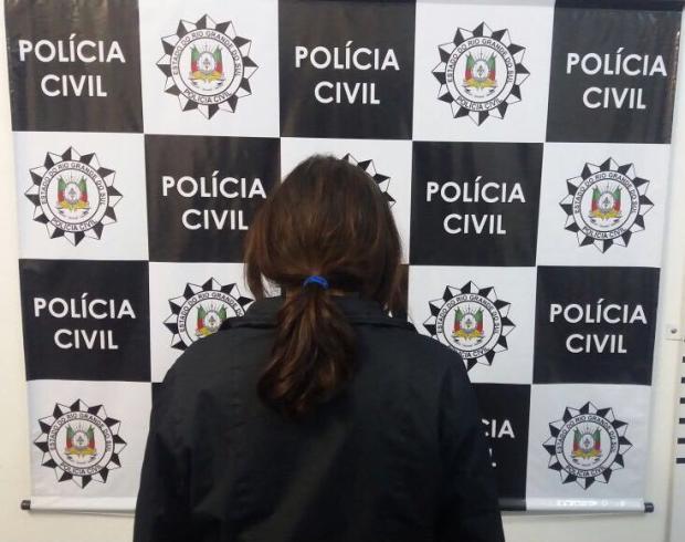 Polícia Civil captura condenada por tráfico de drogas em Caxias do Sul Polícia Civil / Divulgação/Divulgação