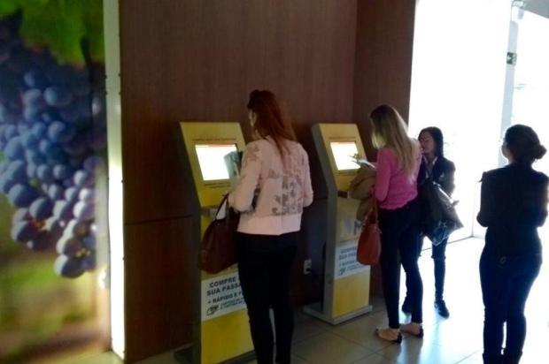 Rodoviária de Caxias inicia venda de passagens em terminais de autoatendimento Paulo Ricardo Leal/Divulgação