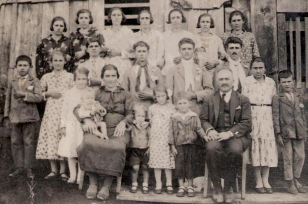 Memória: A trajetória da família Casali no Brasil Acervo de família/divulgação