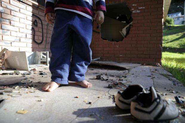 Direção do Juventude comprará chinelos para repor pares furtados de crianças pobres em Caxias do Sul Marcelo Casagrande/Agencia RBS