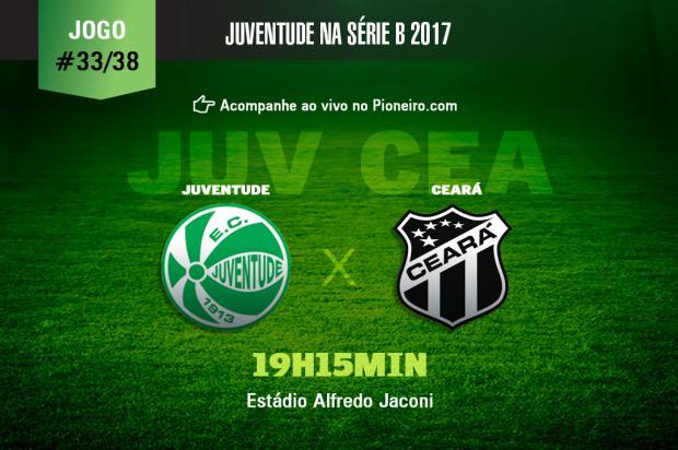 AO VIVO: siga os lances de Juventude e Ceará Pioneiro/Pioneiro