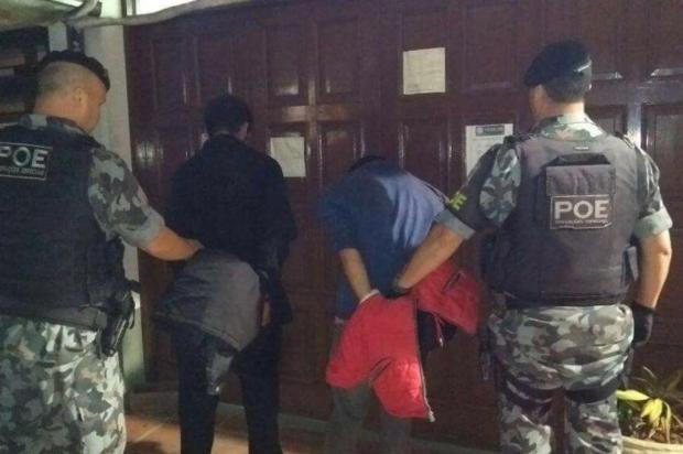 Criminosos amarram família em roubo a residência em Bento Gonçalves Brigada Militar/Divulgação