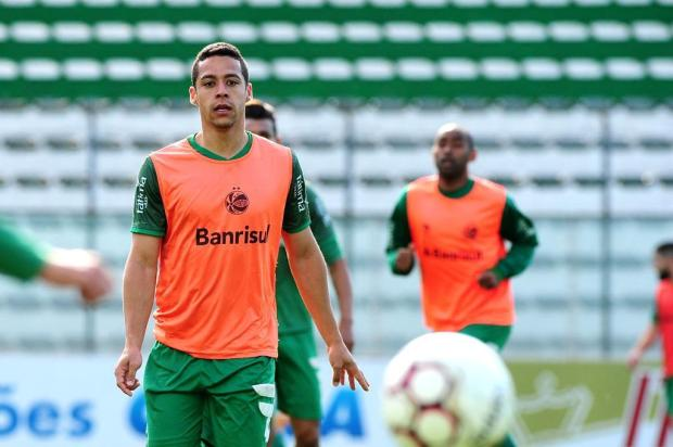 Autor do gol contra o Ceará, Ramon espera sequência positiva no Ju Diogo Sallaberry/Agencia RBS