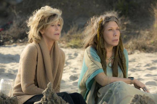 """Série da Semana: Assista """"Grace and Frankie"""" Melissa Moseley/Netflix,Divulgação"""