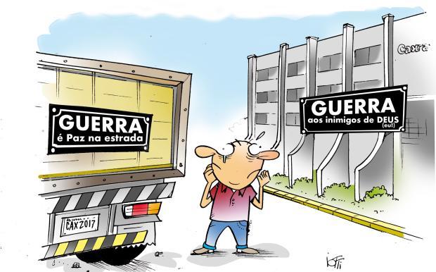 Iotti: Guerra e empresa Guera Iotti / Agência RBS /Agência RBS