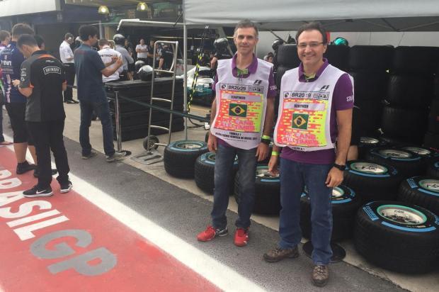 Caxienses são comissários de prova no GP Brasil Arquivo pessoal/Divulgação