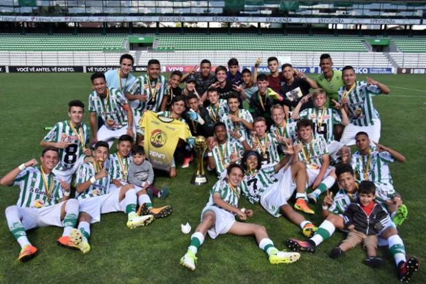 Time sub-15 do Juventude vence o Novo Hamburgo por 1 a 0 e conquista o título estadual da categoria Gabriel Tadiotto / Juventude, Divulgação/Juventude, Divulgação