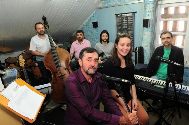 Tenor Dirceu Pastori e soprano Caroline Gobbato homenageiam Andrea Bocelli em tributo nesta quarta-feira, em Caxias do Sul Porthus Junior/Agencia RBS
