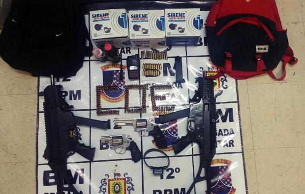 Polícia busca relacionar submetralhadoras com execuções de facção em Caxias do Sul Brigada Militar / Divulgação/Divulgação