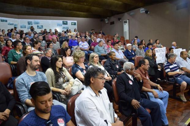 Câmara de Caxias restabelece passe livre para Amobs Franciele Masochi Lorenzett/Divulgação