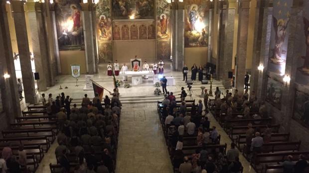 Missa em Caxias do Sul comemora 180 anos da Brigada Militar Porthus Junior / Agência RBS/Agência RBS