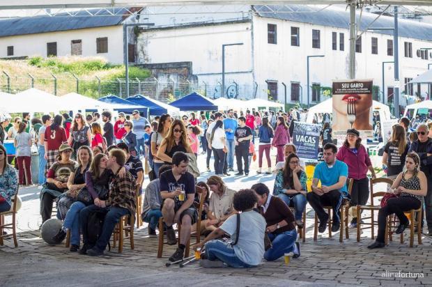3por4: Bazar Vegano ocorre neste domingo, na Praça das Feiras, em Caxias Aline Fortuna/Divulgação