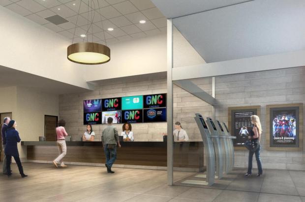 GNC Cinemas entra em reformas no Shopping Iguatemi Caxias FMC Arquitetura/reprodução