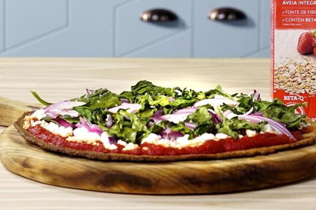 Sirva pizza com massa de batata doce e aveia Tastemade/Divulgação