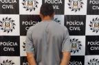Suspeito de roubo com sequestro é preso em Caxias do Sul (Polícia Civil/Divulgação)