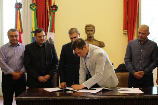 Contrato entre Hospital Tacchini e prefeitura de Bento Gonçalves é renovado Marina Teles / divulgação/divulgação