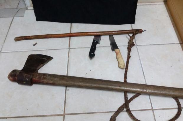 Enteado mata padrasto com golpes de machado em Canela Polícia Civil de Canela/Divulgação