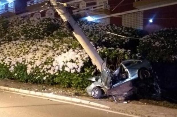 Motorista perde o controle do carro e morre em acidente, em Gramado Paulo Roberto Juchen/Jornal Integração