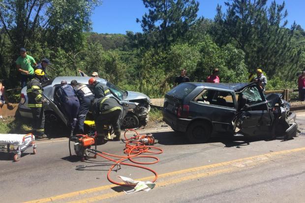 Acidente deixa seis pessoas feridas em Caxias do Sul André Tajes/Agência RBS