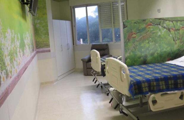 Hospital Geral de Caxias do Sul inaugura serviço de cuidados paliativos divulgação /  Unidade de Conforto Sintomático, inaugurada em 2015/ Unidade de Conforto Sintomático, inaugurada em 2015