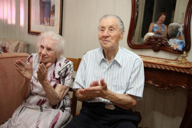Memória: Deonilda e Acacio, um casal centenário Acervo pessoal Maria de Lourdes/Divulgação