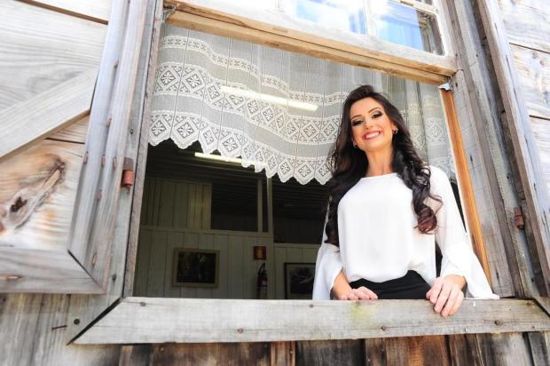 Camile de Oliveira Calza é a quinta candidata a rainha da Festa da Uva Porthus Junior/Agencia RBS