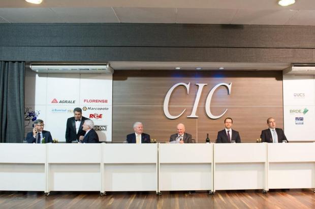"""Teve """"climão"""" na reunião-almoço da CIC, em Caxias Julio Soares/Divulgação"""