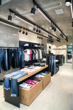 Calvin Klein inaugura franquia em Caxias Jeferson Deboni/divulgação