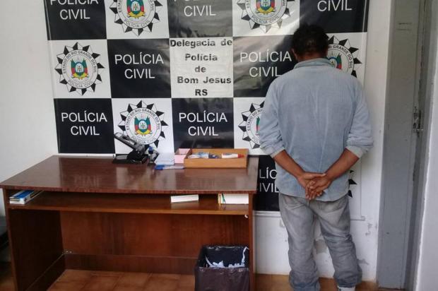 Polícia Civil prende pai suspeito de abusar da própria filha em Bom Jesus Polícia Civil/Divulgação