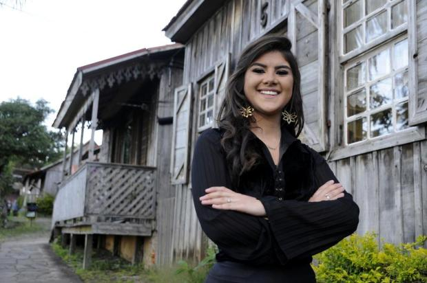 Cassandra Rodrigues quer representar o tradicionalismo na Festa da Uva Marcelo Casagrande/Agencia RBS