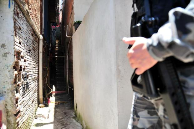Local de confronto com a BM seria paradeiro de facção em Caxias do Sul Diogo Sallaberry/Agencia RBS