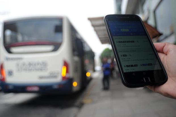 Ferramenta online ajuda usuários do transporte público de Caxias a não perder tempo na parada Felipe Nyland/Agencia RBS