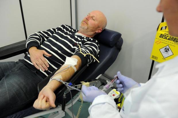 Dia Nacional do Doador de Sangue quer ampliar doações em Caxias do Sul Felipe Nyland/Agencia RBS