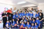 Jogadores do Caxias do Sul Basquete entregam donativos ao Centro Assistencial Vitória Emanuel Wolff/Caxias do Sul Basquete,Divulgação