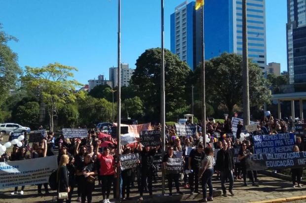 Professores da Educação Infantil de Caxias decidem manter greve por tempo indeterminado Lucas Demeda/Agencia RBS