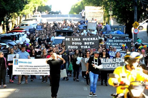 Pelo menos 42 das 45 escolinhas conveniadas com a prefeitura estão fechadas em Caxias Diogo Sallaberry/Agencia RBS