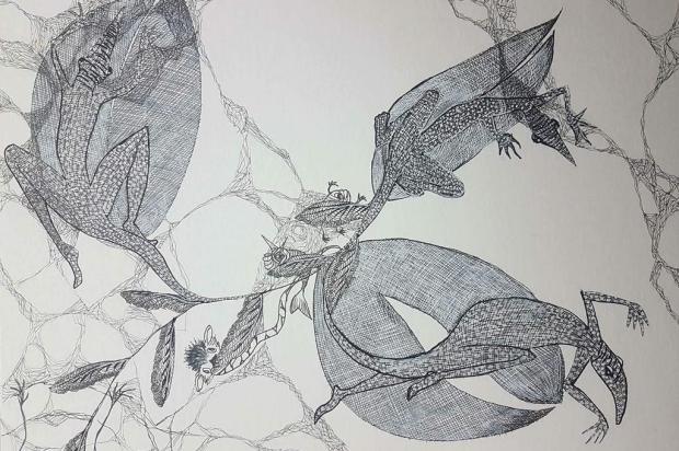 """Miniexposição """"Criaturas"""" pode ser conferida a partir desta terça, em Caxias Natália Bianchi/divulgação"""