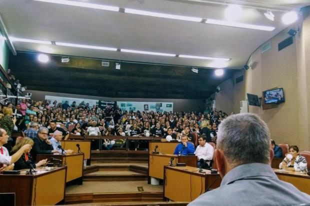 Sem presença da prefeitura, audiência reforça contrariedade à gestão compartilhada do Postão de Caxias Mateus Frazão/Agencia RBS