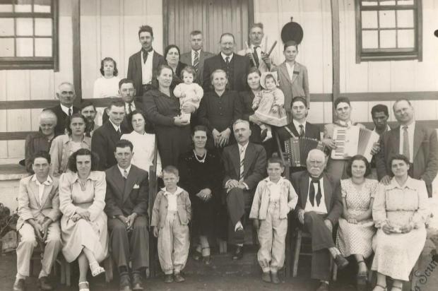 Memória: a vida do italiano Gioachino Modena Reprodução/Agencia RBS