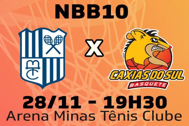 Acompanhe jogada a jogada a partida entre Minas e Caxias Basquete Pioneiro / Agência RBS/Agência RBS