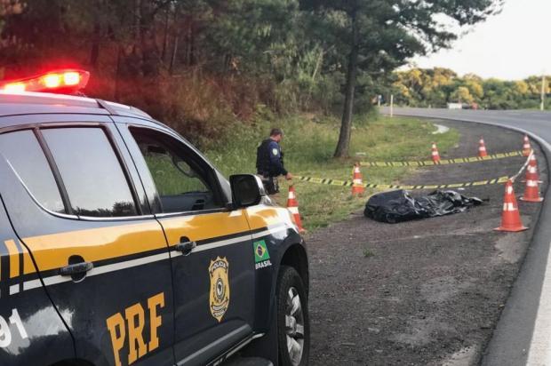 Homem é encontrado morto às margens da BR-470 em Vila Flores PRF/Divulgação