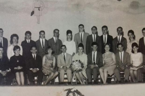 Memória: Formandos do científico de 1965 Acervo pessoal/Divulgação