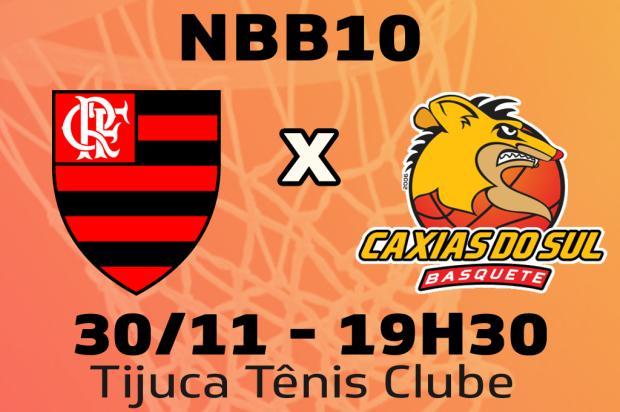 Jogada a jogada: Caxias Basquete pega Flamengo no Rio Pioneiro / Pioneiro/Pioneiro